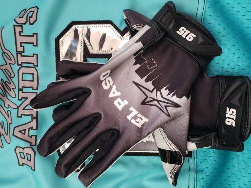 Custom Football Gloves